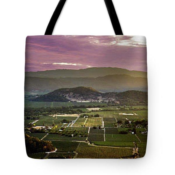 The Napa Valley Floor Tote Bag