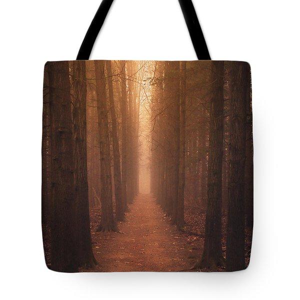 The Narrow Path Tote Bag