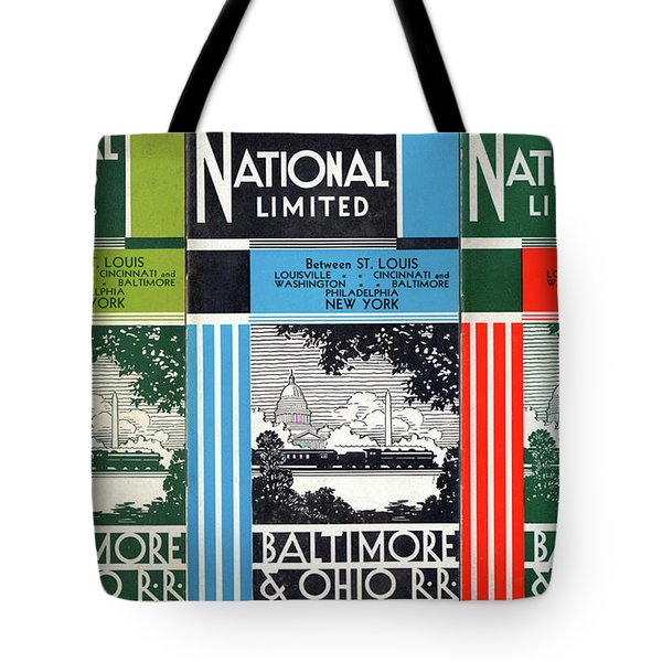 The National Limited Collage Tote Bag