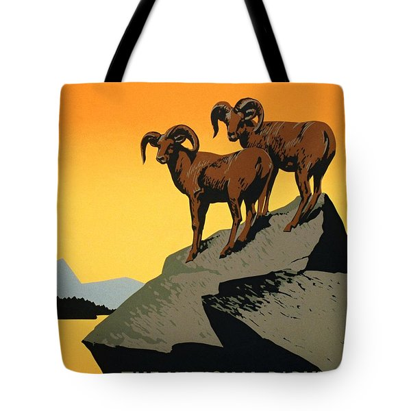The National Parks Poster Tote Bag