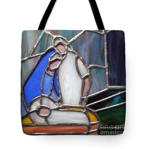 The Nativity  Tote Bag