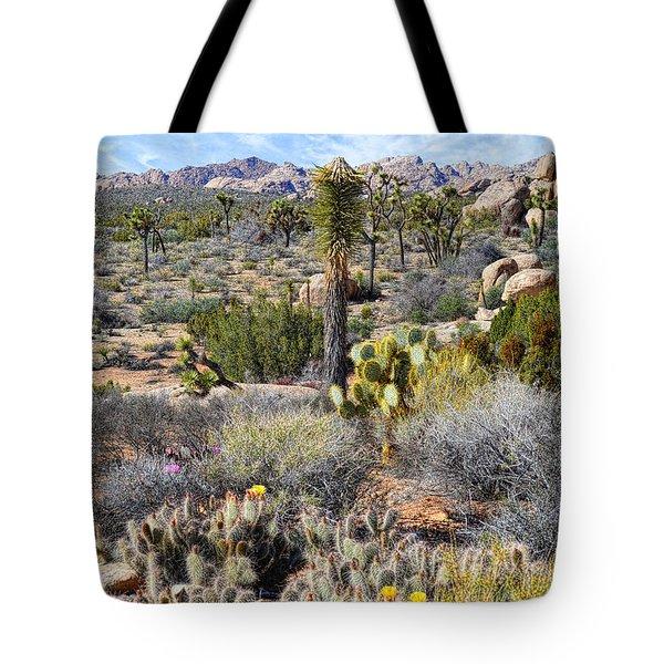 The Natural Garden - Joshua Tree National Park Tote Bag