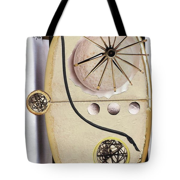 Tote Bag featuring the painting The Navigator by Michal Mitak Mahgerefteh