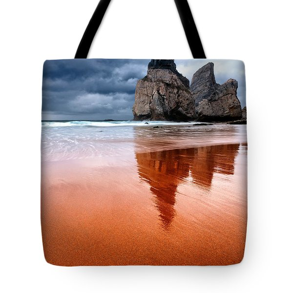 The Needle Tote Bag by Evgeni Dinev