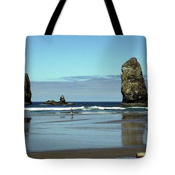 The Needles, Cannon Beach, Or Tote Bag