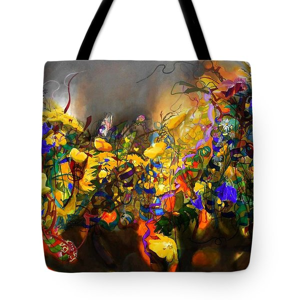 The Neglected Flower Bed Tote Bag
