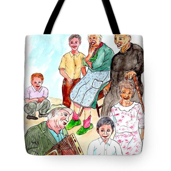 The Neighborhood Music Man Tote Bag