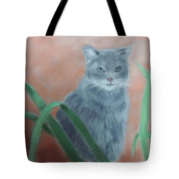 The Neighbor's Cat Tote Bag