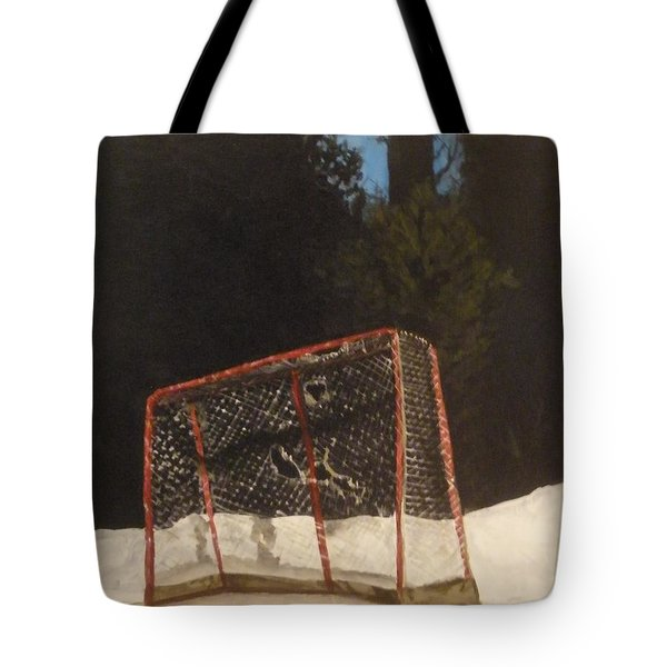 Tote Bag featuring the painting The Net. by Betty-Anne McDonald