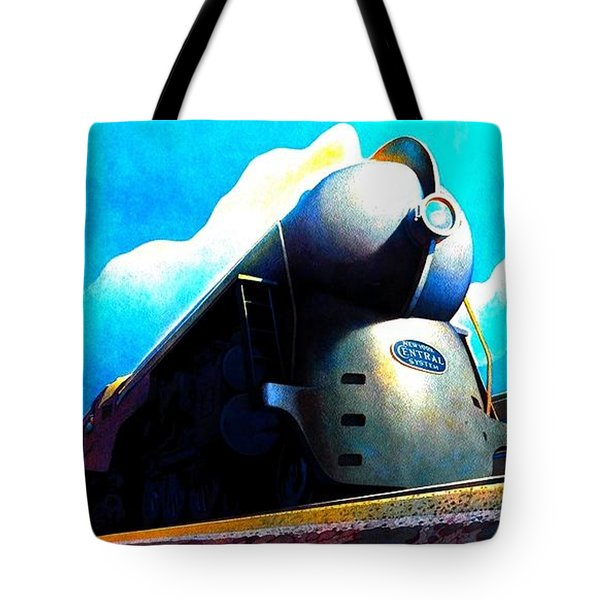 The New 20th Century Limited New York Central System 1939 Tote Bag
