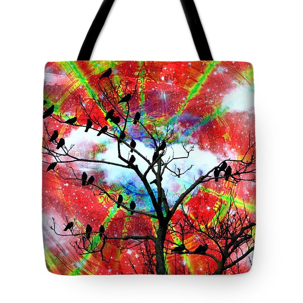 The New Awakens Perplexity And Resistance Tote Bag