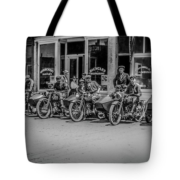 The New Bikes Tote Bag