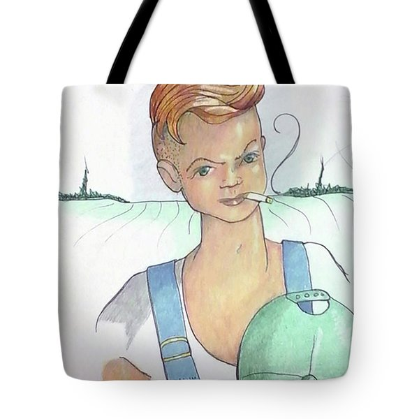 The New Farmer Tote Bag by Loretta Nash