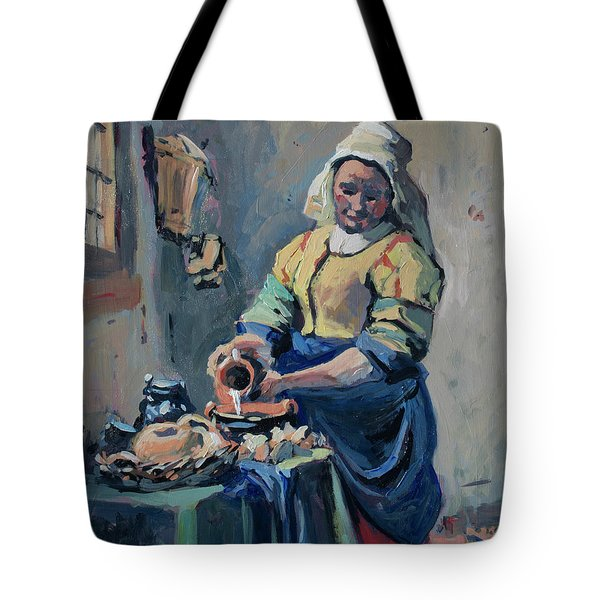 The New Milkmaid Tote Bag
