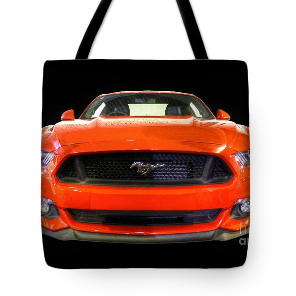 The New Mustang Tote Bag by Vicki Spindler