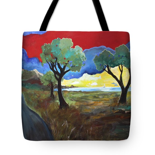 The New Road Tote Bag