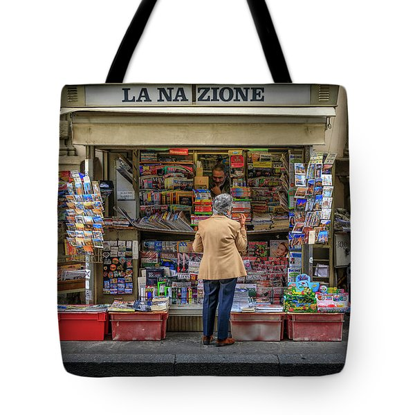The News Zone Tote Bag