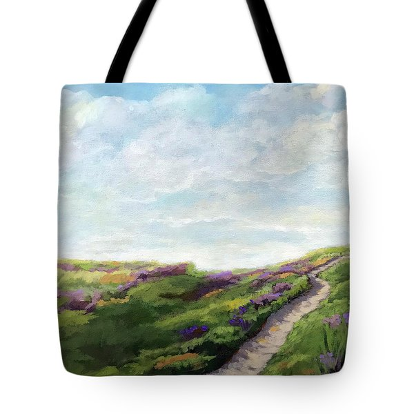 The Next Adventure - Landscape Painting Tote Bag
