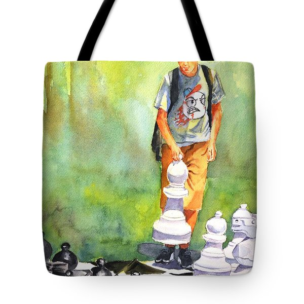 The Next Move #1 Tote Bag