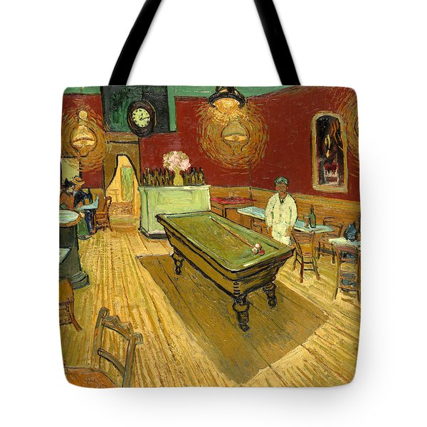 The Night Cafe Auto Contrasted Tote Bag