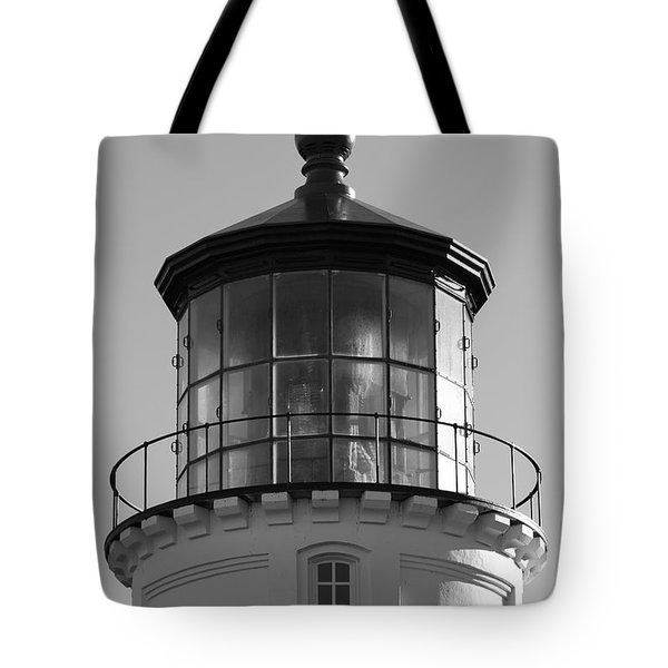 Tote Bag featuring the photograph The Night Light by Laddie Halupa