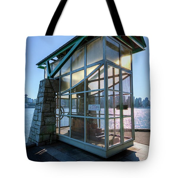 The Nine O'clock Gun Tote Bag