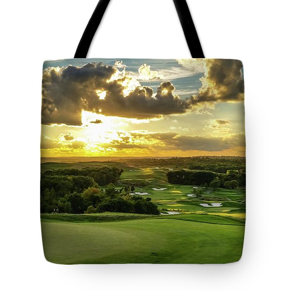 The Ninth Hole II Tote Bag