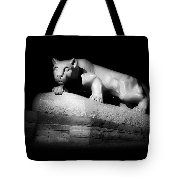 The Nittany Lion Of P S U Tote Bag