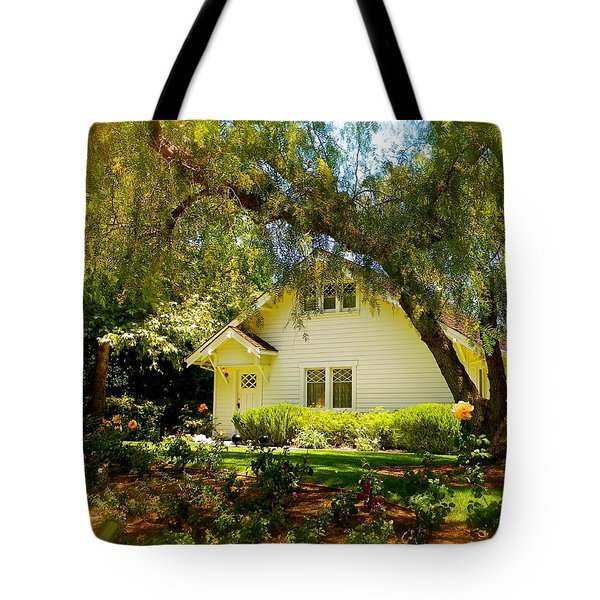 The Nixon Home  President Richard Nixon  Tote Bag