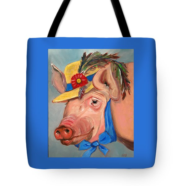 The Noble Pig Tote Bag