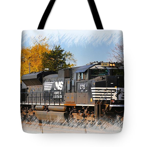 The Norfolk Southern Tote Bag