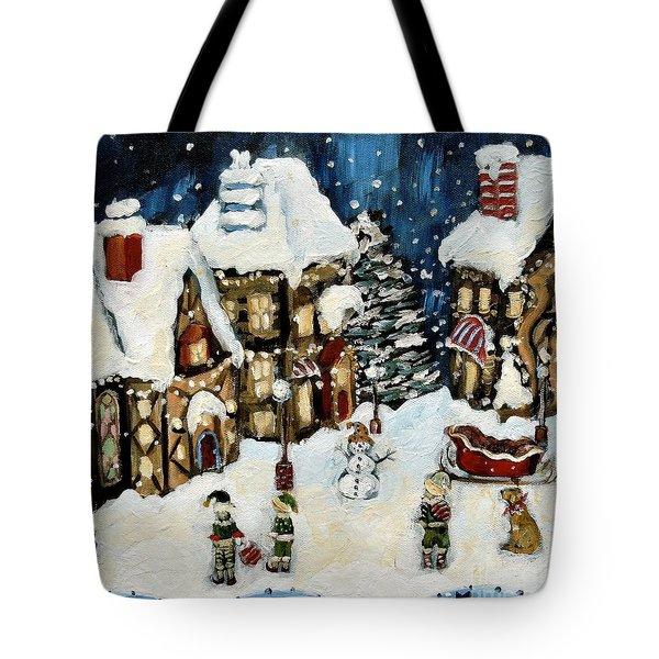 The North Pole Tote Bag