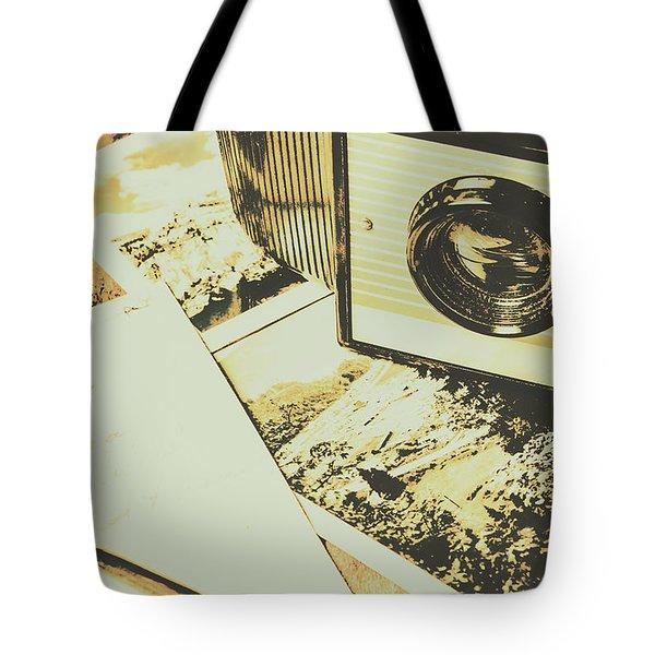The Nostalgic Archive Tote Bag