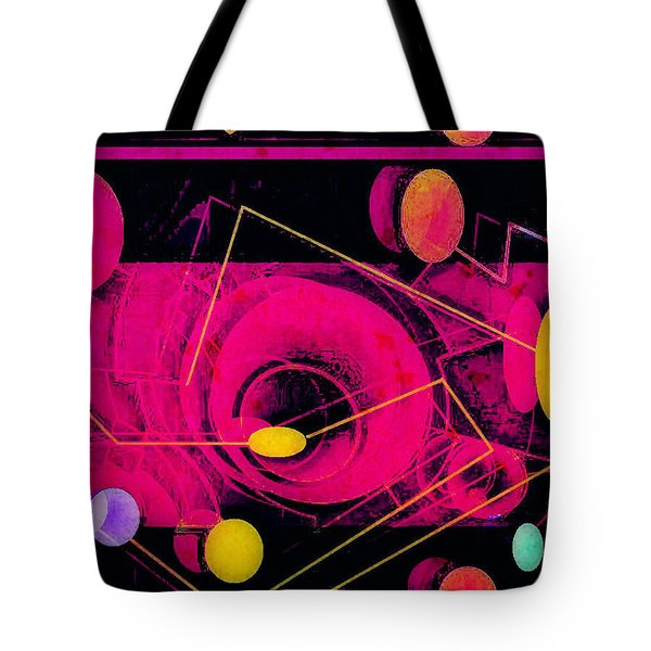 The Nu Solar System Tote Bag by Tony Adamo