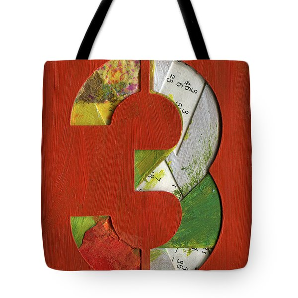 The Number 3 Tote Bag