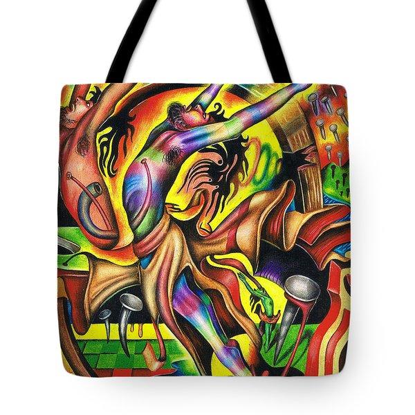 The Numinous Spectrum Of Exaltation Tote Bag