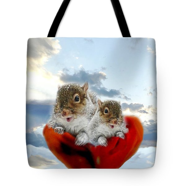 The Nuttings Are Coming Tote Bag