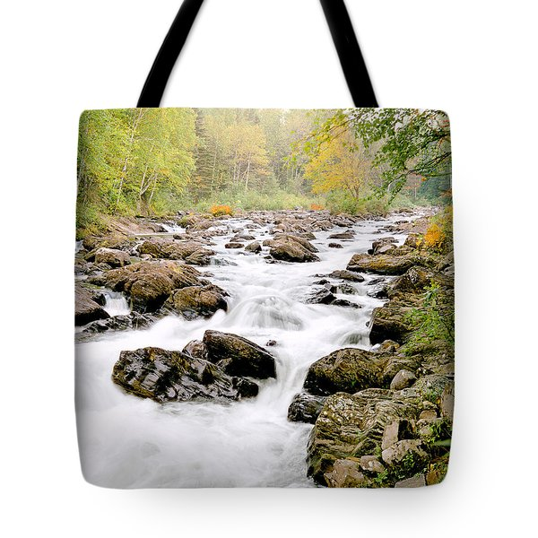 The Nymphs Of Moxie Stream Photo Tote Bag