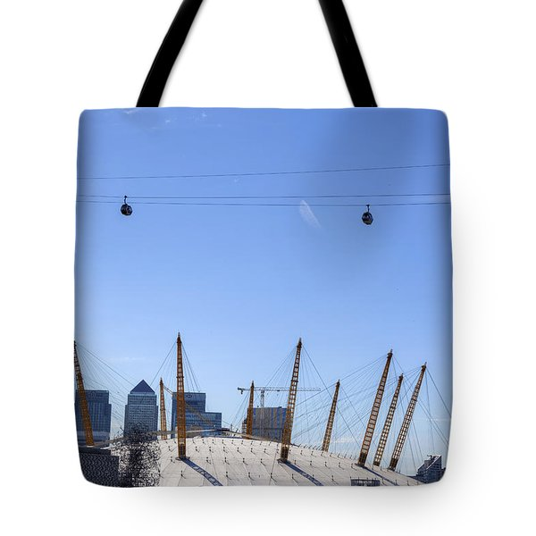 The O2 Arena - London Tote Bag