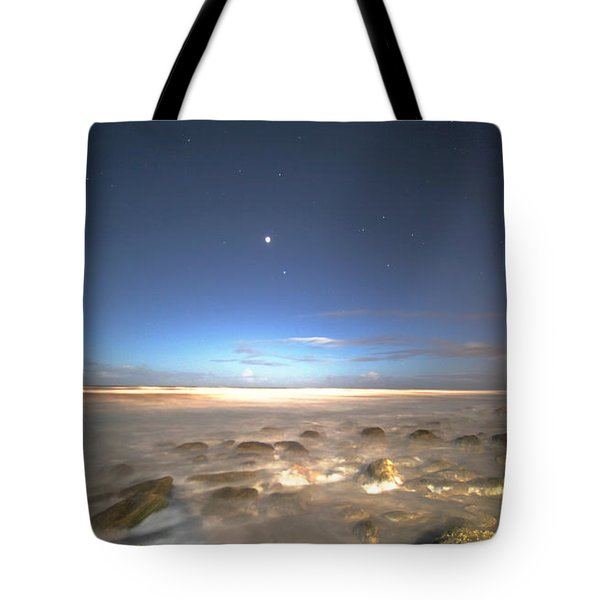 The Ocean Desert Tote Bag