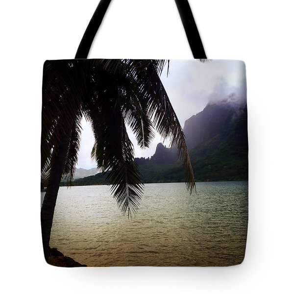 The Ocean In Moorea Tote Bag