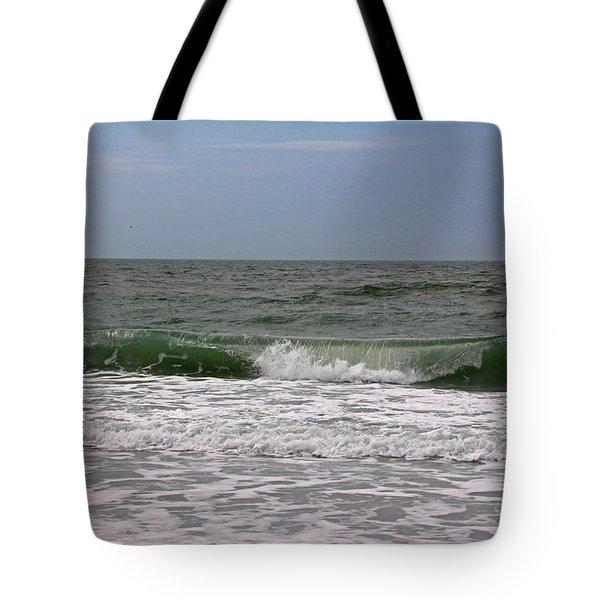 The Ocean In Motion Tote Bag