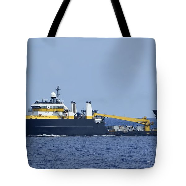 The Ocean Intervention At Sea Tote Bag