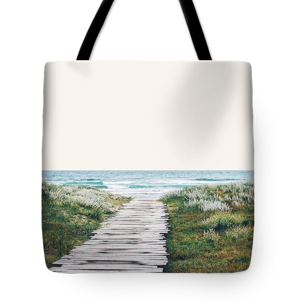 The Ocean Is Calling And I Must Go  Tote Bag by Uma Gokhale