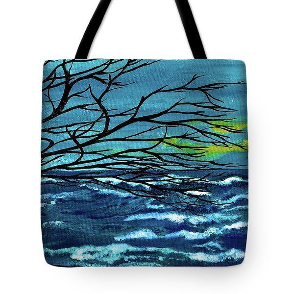The Ocean Tote Bag by Saribelle Rodriguez
