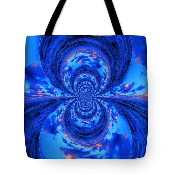 The Oceans Within Tote Bag