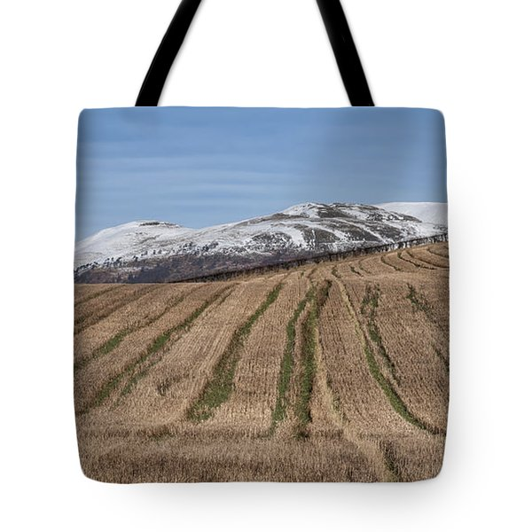 The Ochil Hills In Clackmannanshire Tote Bag