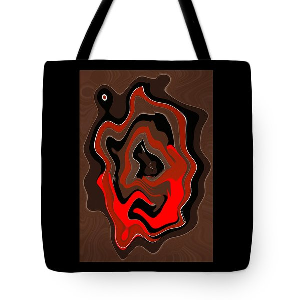 Original Contemporary Painting The Odyssey Tote Bag