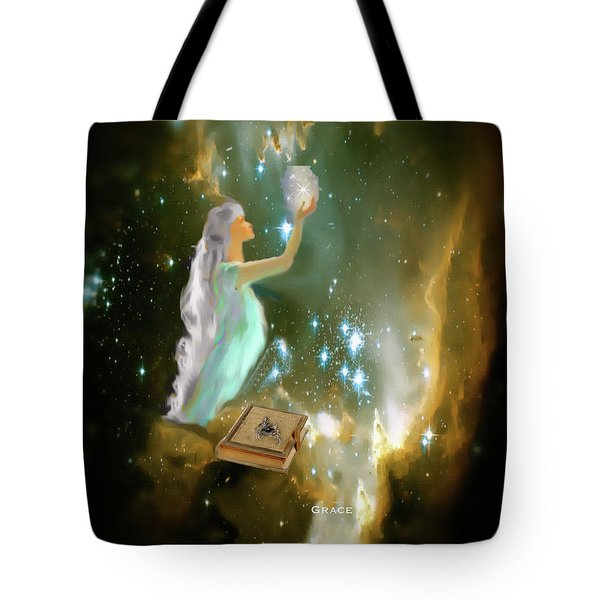 The Offering 1 Tote Bag by Julie Grace