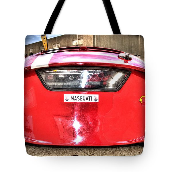 The Oil Drum Tote Bag by Josh Williams